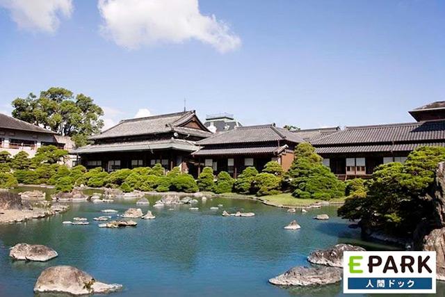 参考写真:旅館での宿泊を提供している長田病院の御花ドックプラン