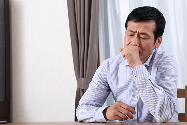 COPD(chronic obstructive pulmonary disease)は慢性閉塞性肺疾患の総称。慢性気管支炎や肺気腫など、いわゆる「肺の生活習慣病」を指します。