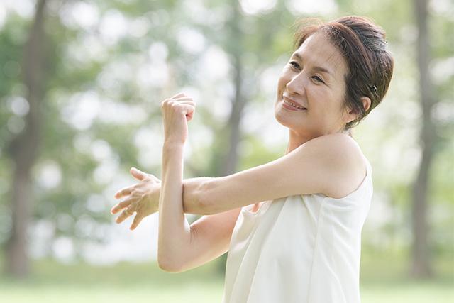 特に閉経後の運動習慣は乳がんリスクを下げると言われています